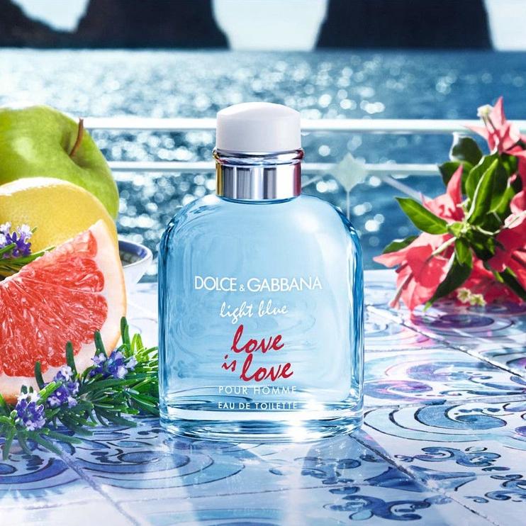 Tualetes ūdens Dolce & Gabbana Light Blue Love Is Love 125ml EDT