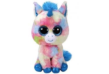 Плюшевая игрушка TY 36877, синий/многоцветный, 15 см