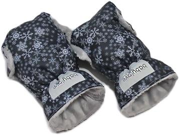 Перчатки для коляски Babylove Footmuff, черный