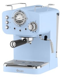 Kohvimasin Swan Retro Pump Espresso Blue