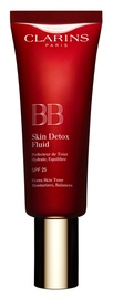 BB veido kremas Clarins BB Skin Detox Fluid SPF25 02, 45 ml