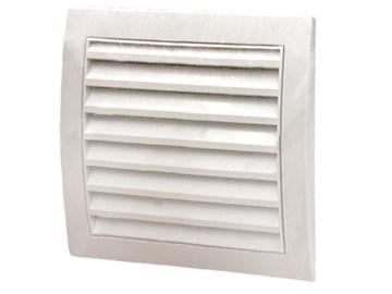 Ventilācijas reste Europlast,  N148X153mm, balta