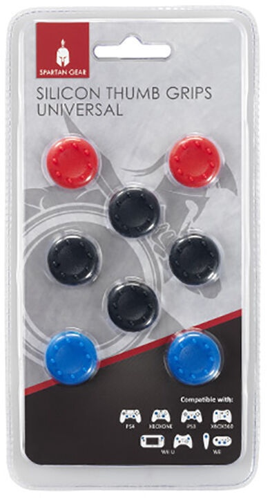 Аксессуар Spartan Gear Silicon Thumb Grips Universal 8-Pack PS4 / Xbox One