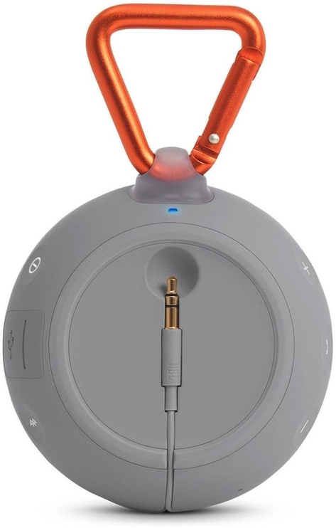 Belaidė kolonėlė JBL Clip 2 Bluetooth Speaker Gray
