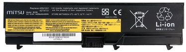 Mitsu Battery For Lenovo Thinkpad T430/T530 4400mAh