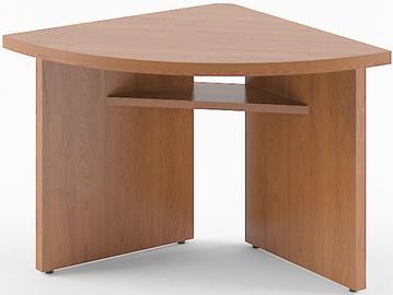Skyland Born B 306 Desk Extension Left Garda Walnut