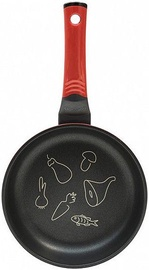 Oursson PF2020D/RD Palette 20cm Fry Pan Diamond Red T-MLX20036