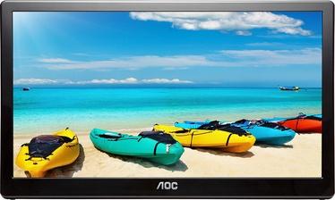 "Monitorius AOC I1659FWUX Portable USB 3.0 Powered Monitor, 15.6"", 5 ms"