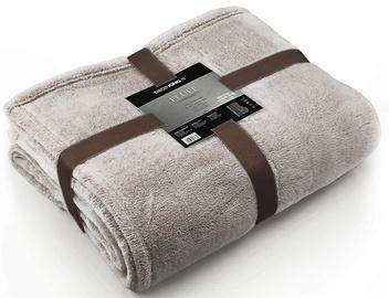 DecoKing Fluff Blanket Brown 150x200cm