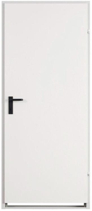 Plieninės vidaus durys ZK baltos, kairinės, 870x2035cm
