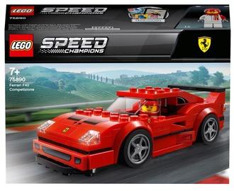 Konstruktor LEGO® Speed Champions Ferrari F40 Competizione 75890, 198 tk