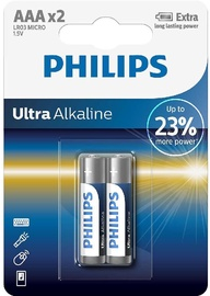 Philips Ultra Alkaline AAA 2x