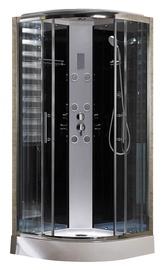 Masāžas dušas kabīne Domoletti K-1871MT, 90x90x218 cm
