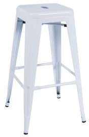 Signal Meble Hoker Long Bar Stool White