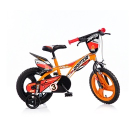 "Dino Bikes 614 L 14"" Orange/Brown"