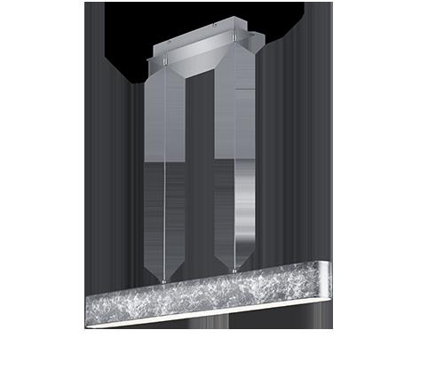 Kabantis šviestuvas Trio Lugano 320910189, 18W, LED Integruota