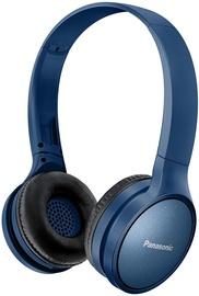 Ausinės Panasonic RP-HF410BE-K Blue, belaidės