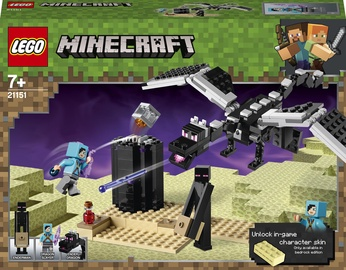 Конструктор LEGO Minecraft Последняя битва 21151, 222 шт.