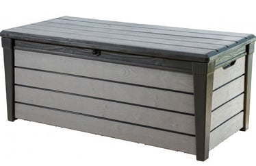 Keter Brushwood Storage Box 455l Grey