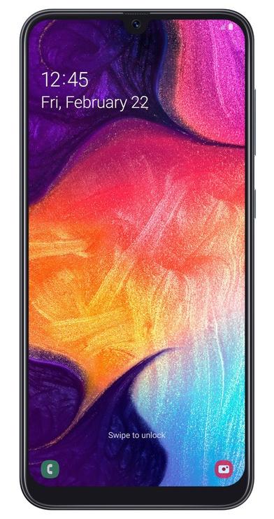 Mobilusis telefonas Samsung Galaxy A50 SM-A505 Black Enterprise Edition, 128 GB