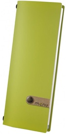 Dag Style Fashion Menu Cover 10.5 x 29.7cm Green