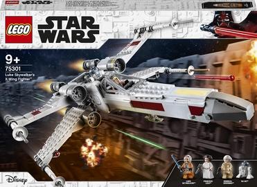 Конструктор LEGO Star Wars Истребитель типа Х Люка Скайуокера 75301, 474 шт.