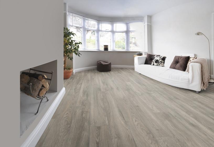 Laminuotos medienos plaušų grindys VB1008, AC5 10 mm