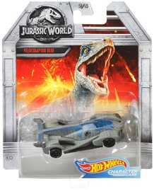 Mattel Hot Wheels Jurassic World Velociraptor Blue FLJ06