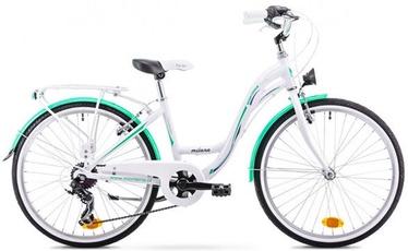 """Vaikiškas dviratis Monteria Milano 13"""" 24"""" White Mint 20"""