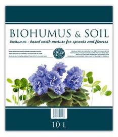 Biohumuss stādiem un puķēm Biohumus & Soil, 10l