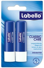 Labello Classic Care Lip Balm 2x5.5ml