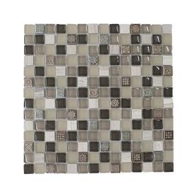 Stiklo mozaikos ruda A564, 30x30 cm