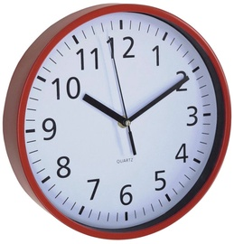 Asi Collection Wall Clock 25.5cm Red