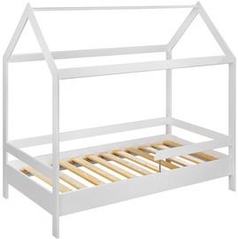 Bērnu gulta ASM Tymmi White, 89x164 cm