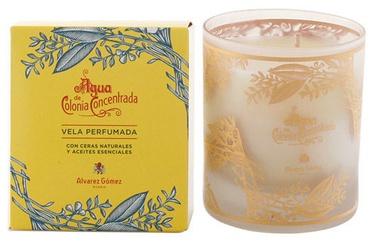 Alvarez Gomez Agua de Colonia Concentrada Scented Candle 120g