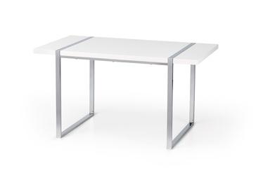 Pusdienu galds Halmar Lion White, 1400x800x750 mm
