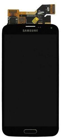 Mobilo tālruņu rezerves daļas Samsung Galaxy S5 Black LCD Screen