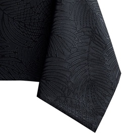 Скатерть AmeliaHome Gaia HMD Black, 150x220 см
