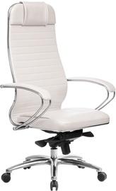 Biroja krēsls MN Samurai KL-1.04 Leather White