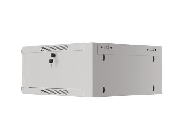 Lanberg 4U/570X600 WFFA-5604-10S Wall Rack Cabinet Grey