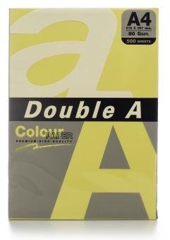 Бумага Double A Colour Paper A4 500 Sheets Butter