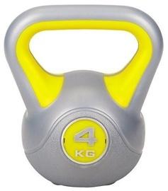 Marbo Sport Kettlebell 4kg Yellow