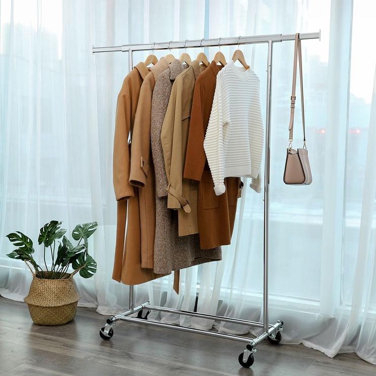 Вешалка для одежды Songmics 160, серебристый