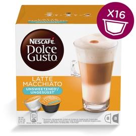 Kavos kapsulės NESCAFÉ® Dolce Gusto® Latte Macchiato Unsweetened, 16 vnt., 168 g