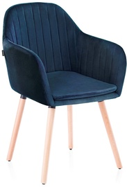 Homede Lacelle Chairs 2pcs Navy