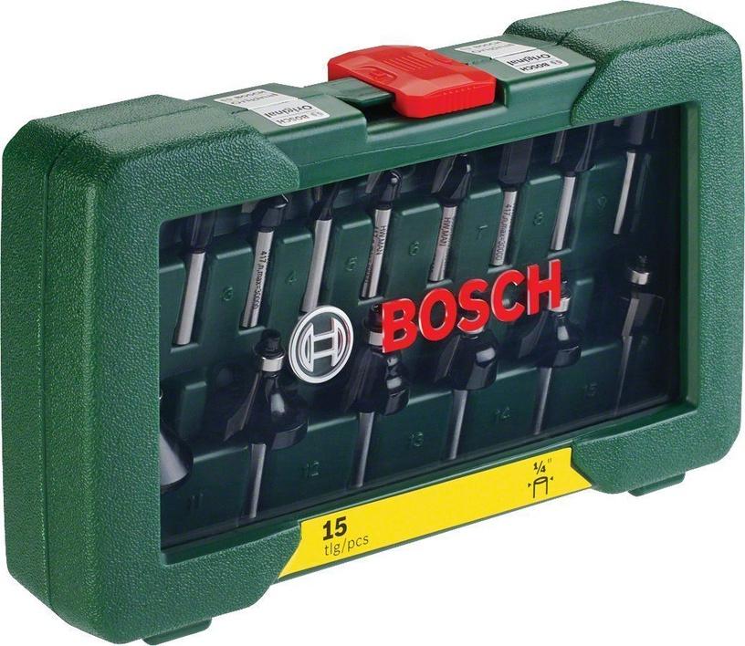 Bosch 2607019468 Router Bit Set 15pcs