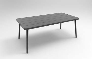 Sodo stalas Masterjero Casablanca V3304-TL, juodas