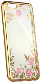 Blun Diamond Back Case For Samsung Galaxy J7 J730 Transparent/Rose Gold