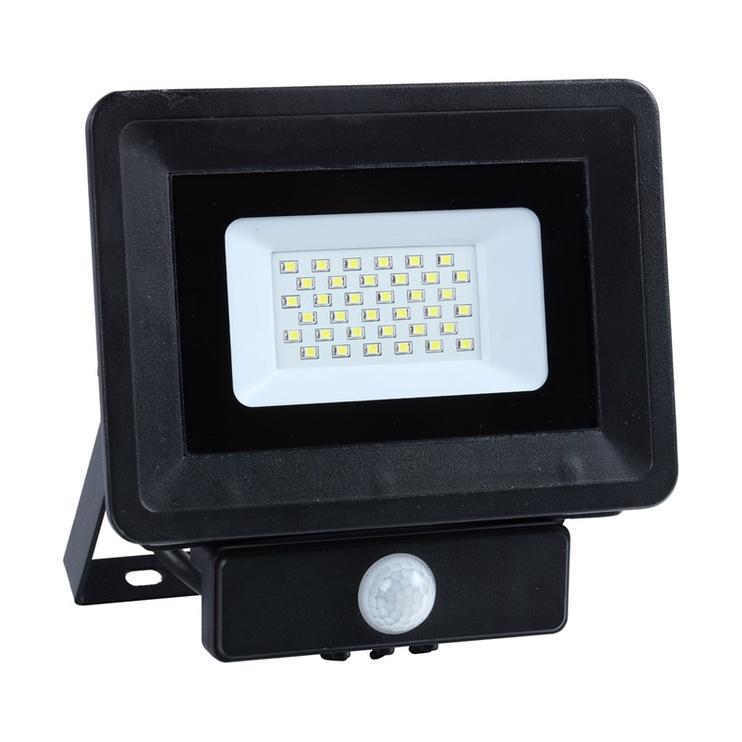 Prožektors Okko E023ES, 30W, 4000K, LED sens