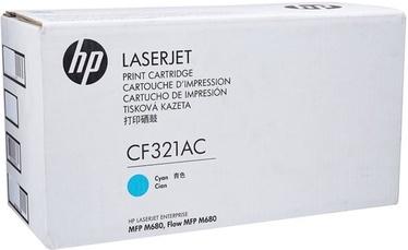 Lazerinio spausdintuvo kasetė HP CF321AC Toner Cyan